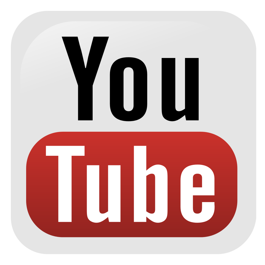 social media button youtube